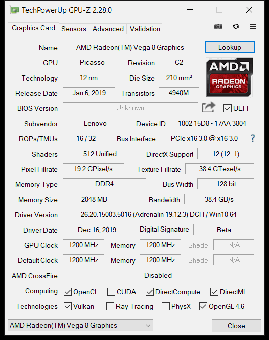Amd Ryzen 5 Mobile 3500u Vega 8 Igpu Review Page 2 Of 11 The Fps Review