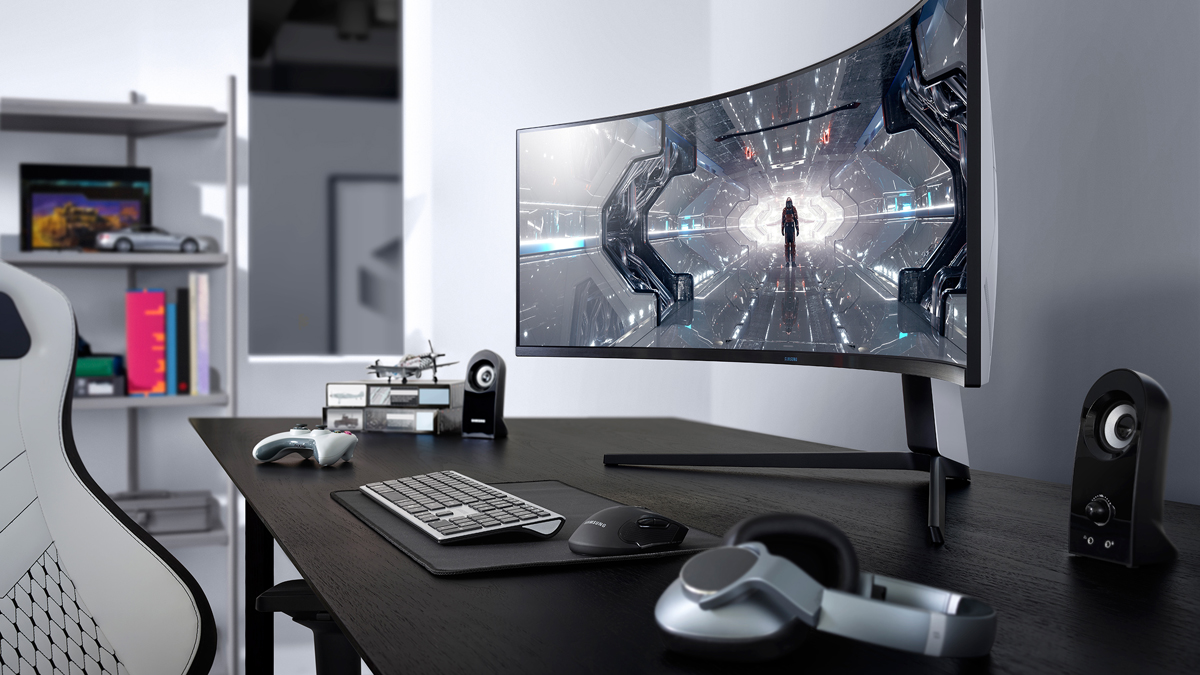 Samsung Unveils 49″ Gaming Monitor with DQHD (5120×1440) Panel and 240 Hz Refresh Rate