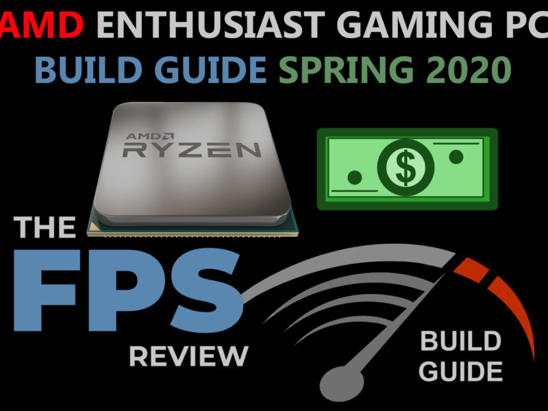 AMD Enthusiast Gaming PC Build Guide Spring 2020 Logo