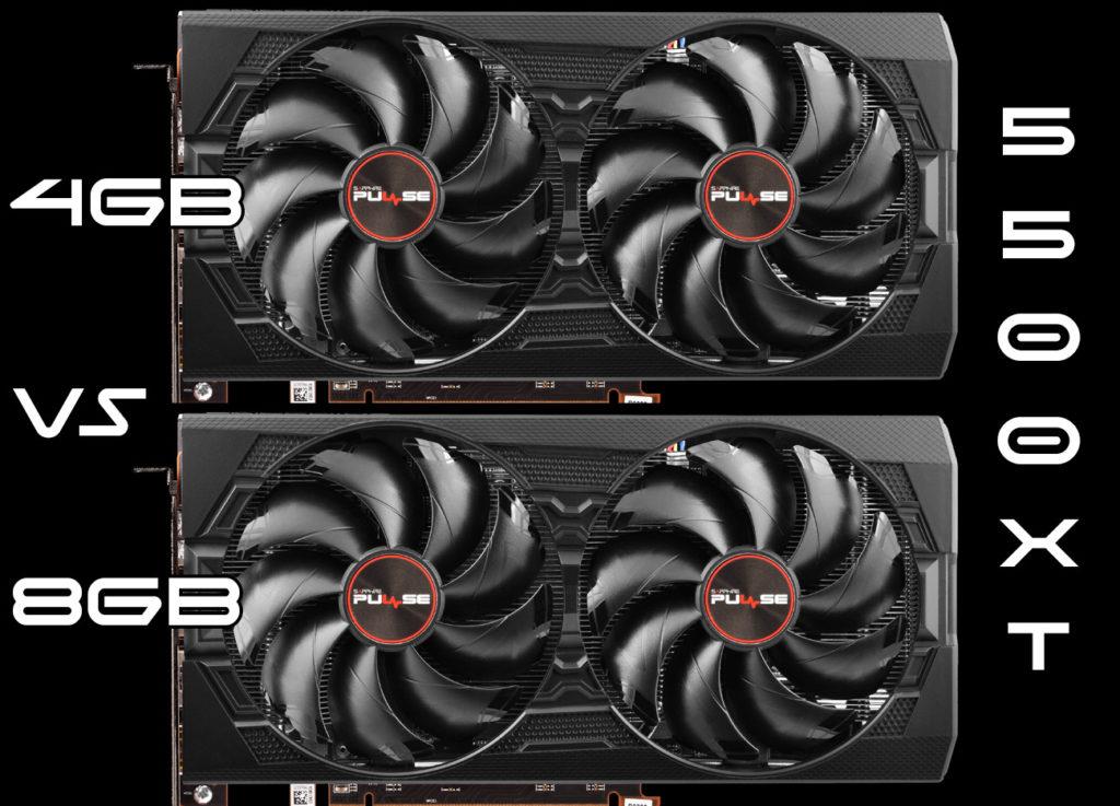 Radeon RX 5500 XT 8GB vs. 4GB Gaming Review