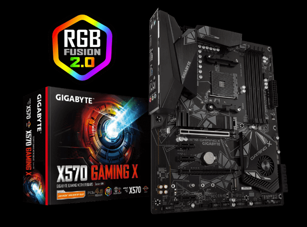 GIGABYTE X570 Gaming X Motherboard Banner