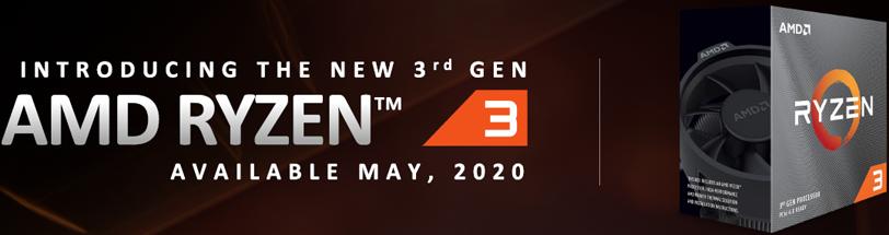 AMD Ryzen 3 3300X CPU Banner