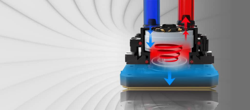 SilverStone PF360-ARGB AIO Cooler Pump Diagram