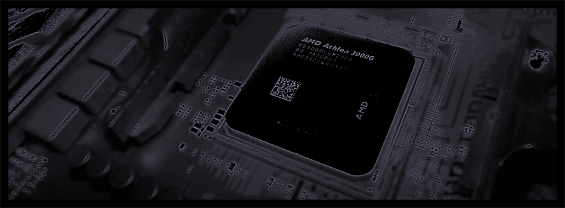 AMD Athlon 3000G APU