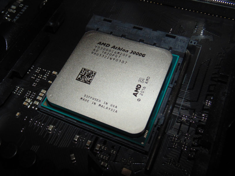 AMD Athlon 3000G Review with Overclocking Featured Image