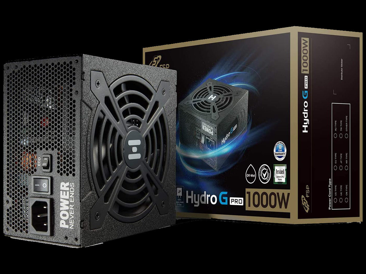FSP Hydro G PRO 1000W Power Supply Review Featured Image