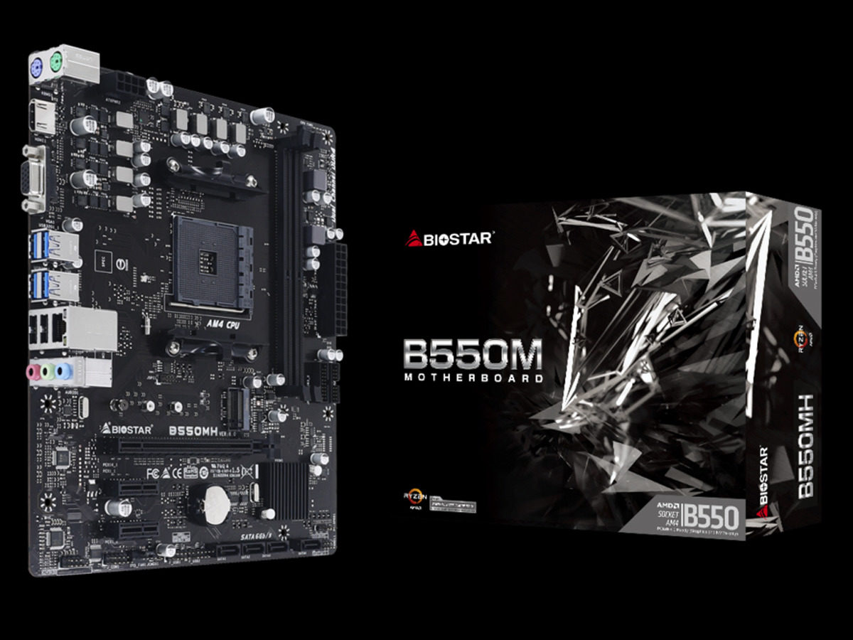 BIOSTAR B550MH Motherboard Review Featured Image