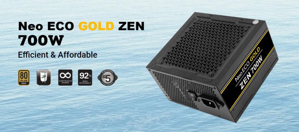 Antec Neo ECO Gold ZEN 700W Power Supply Advert