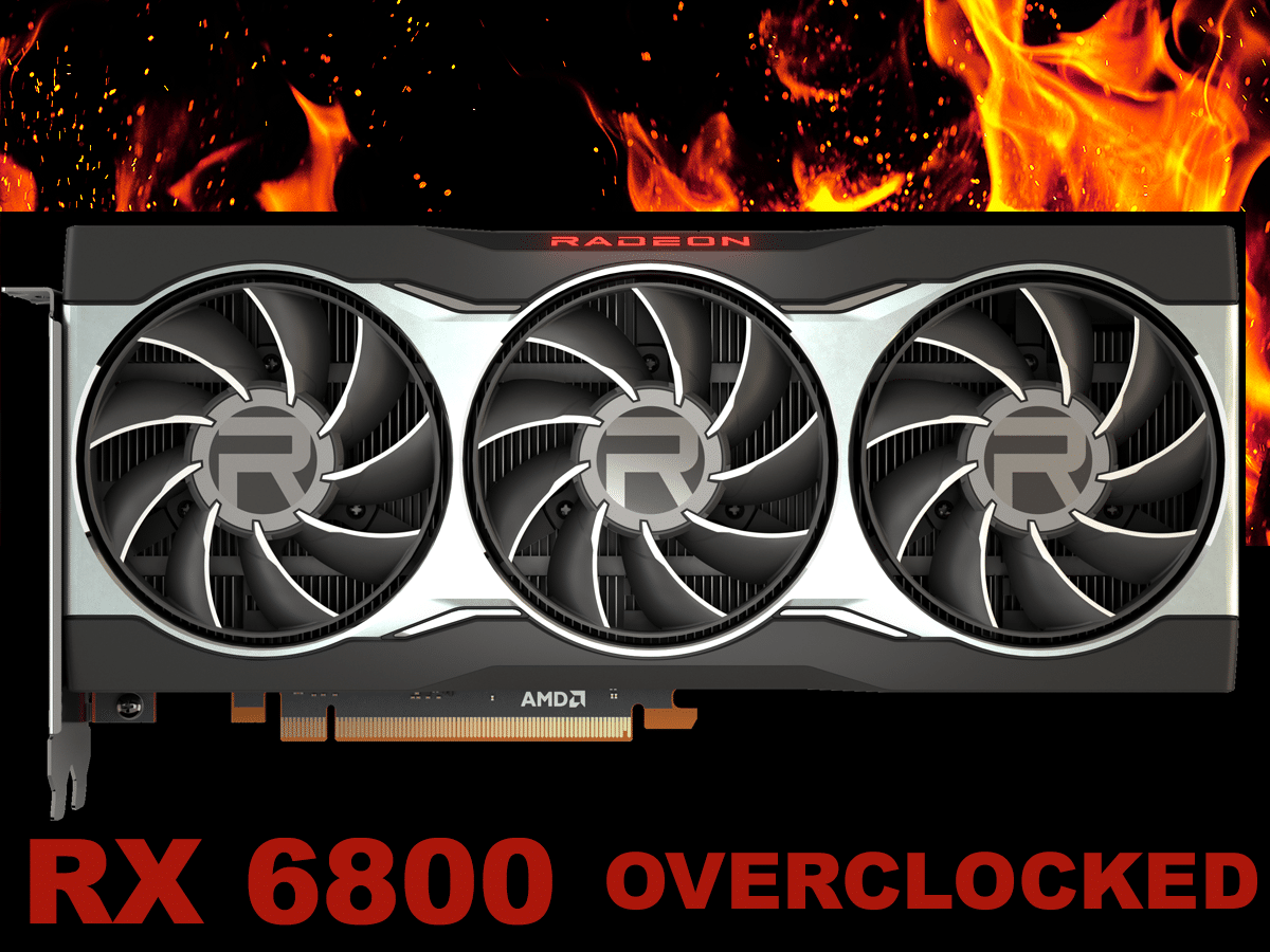AMD Radeon RX 6800 Overclocking Featured Image