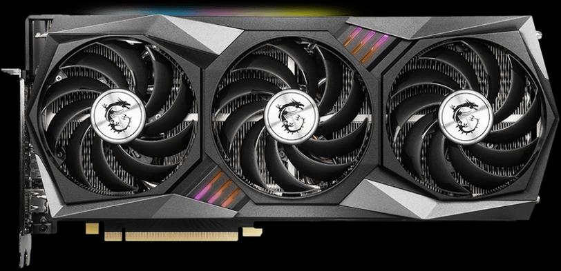 MSI GeForce RTX 3060 Ti GAMING X TRIO Video Card