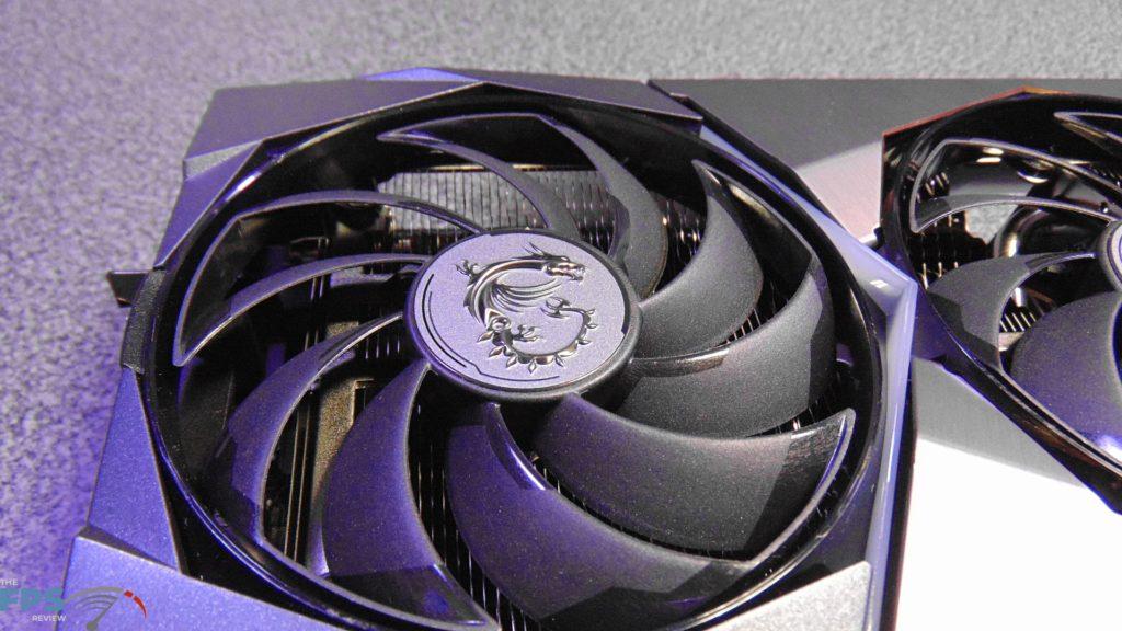 MSI GeForce RTX 3080 SUPRIM X Fans
