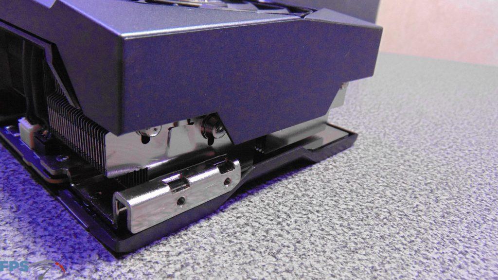 MSI GeForce RTX 3080 SUPRIM X End of Card