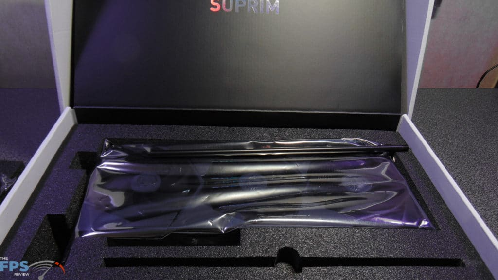 MSI GeForce RTX 3080 SUPRIM X Inside Box