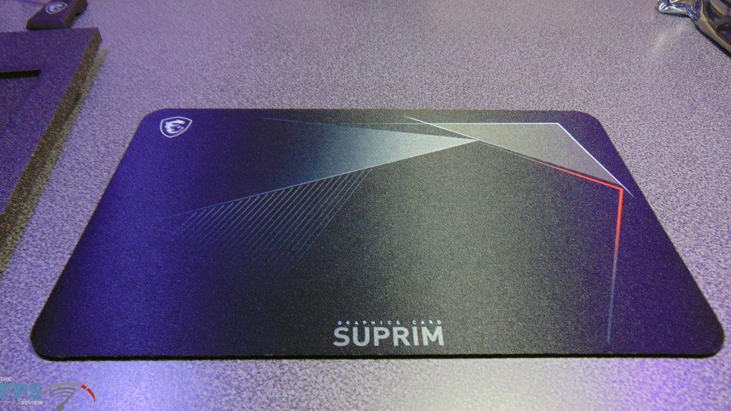 MSI GeForce RTX 3080 SUPRIM X Mouse Pad