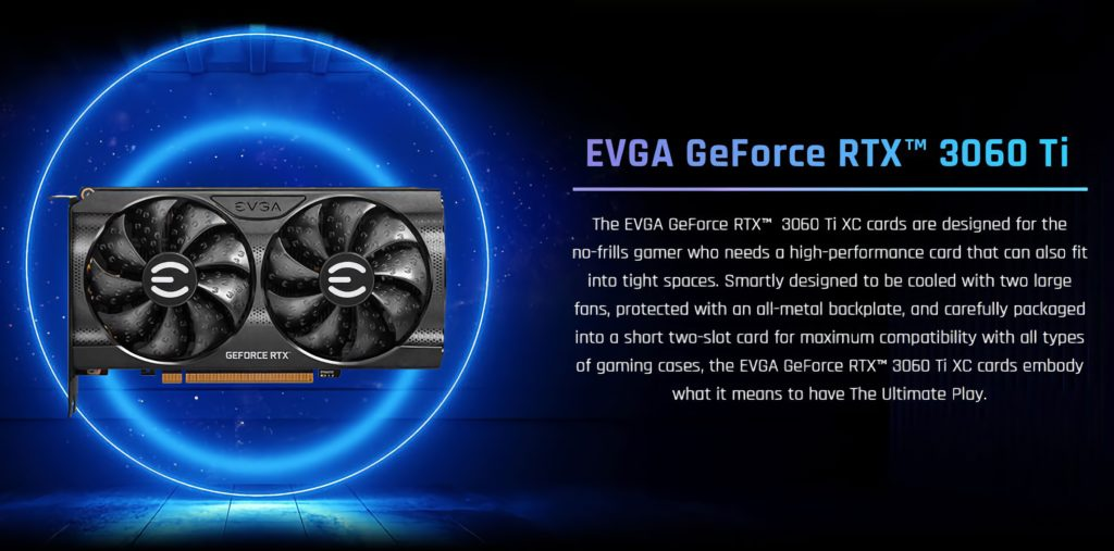 EVGA GeForce RTX 3060 Ti XC GAMING Features