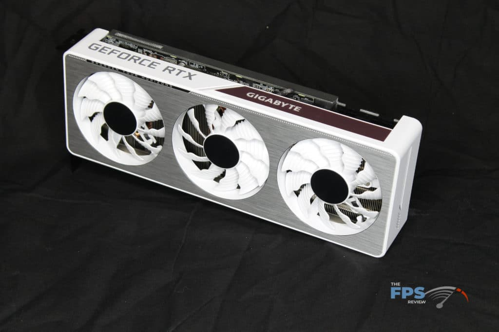 GIGABYTE GeForce RTX 3070 VISION OC 8G Front Angle View
