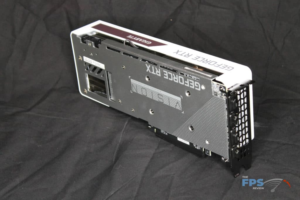 GIGABYTE GeForce RTX 3070 VISION OC 8G Back Angle View