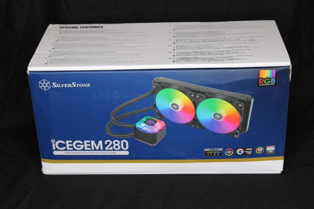 SilverStone IceGem 280 Box Front