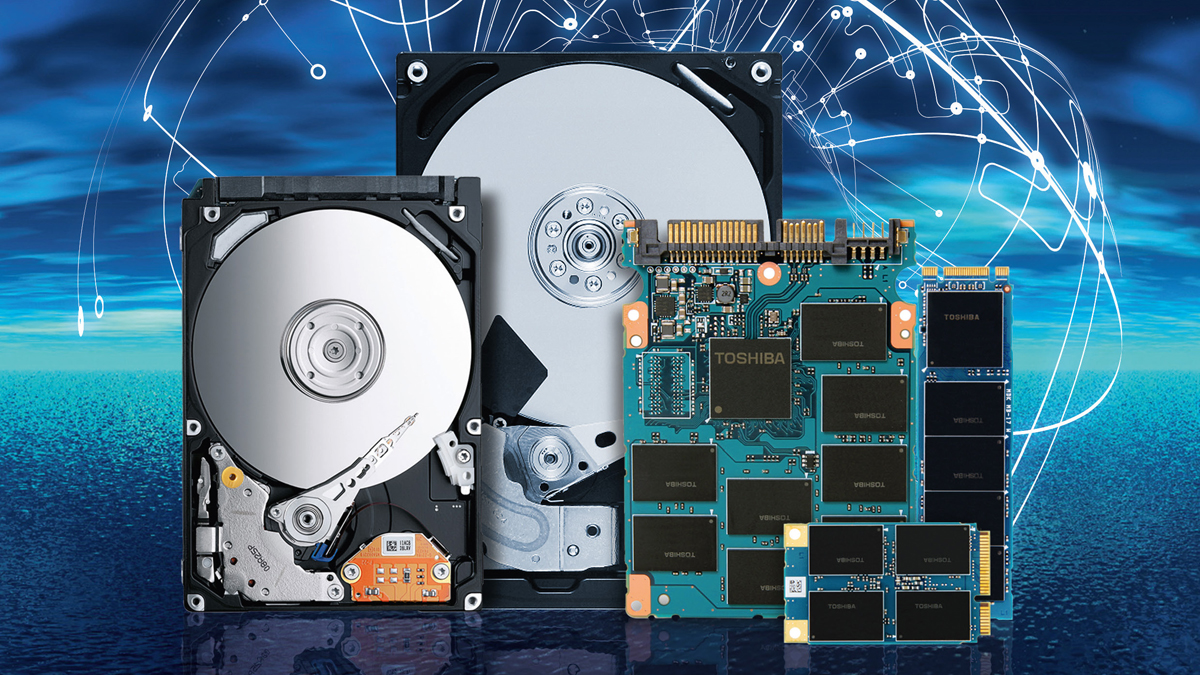 Toshiba Announces Its First 18 TB Hard Disk Drives Enabled by Microwave-Assisted Magnetic Recording