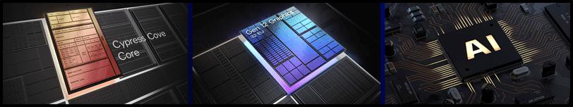 Intel 11th Gen Core Desktop Processor  Rocket Lake-S Key Marketing Points Banner